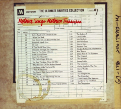 Ultimate Rarities Collection Number #1 - Motown Sings Motown Treasures