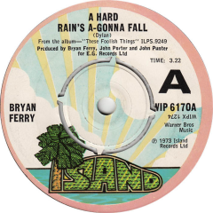 A Hard Rain's A-Gonna Fall