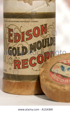 Edison Gold Moulded Records