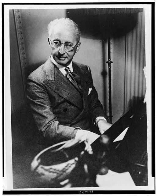Image result for composer jerome kern in 1945