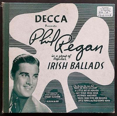 Tracks on Decca Presents Phil Regan in a Group of Irish