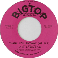 Thank You Anyway (Mr. D.J.)