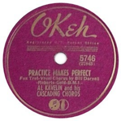 Tracks on Practice Makes Perfect - Al Kavelin and His Cascading