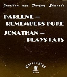 Darlene - Remembers Duke, Jonathan - Plays Fats